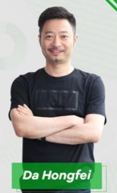 Фото Hongfei Da, основателя, генерального директора проекта NEO