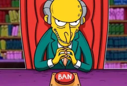 Картинка злобного администратора Facebook, который модерирует страницы сторонников криптовалют перед баном