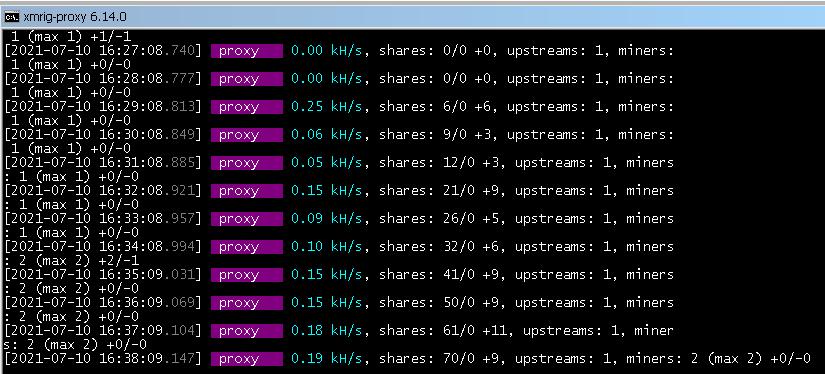 Использование программы xmrig-proxy для оптимизации майнинга в локальной сети